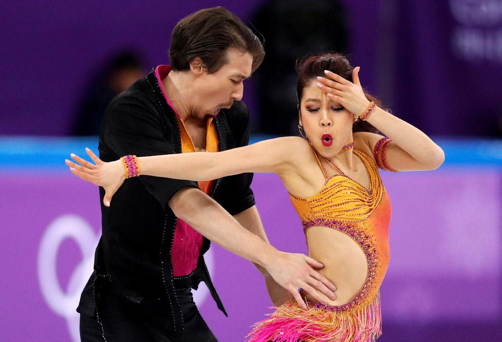 Кана Мурамото и Крис Рид в танцах на льду