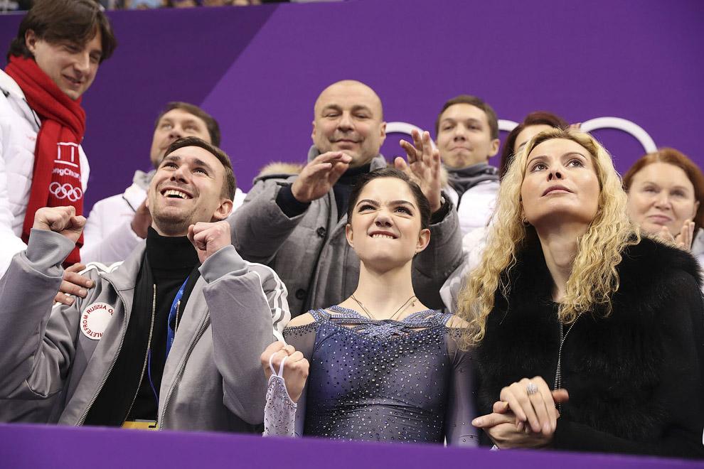 Фигуристка Евгения Медведева из России