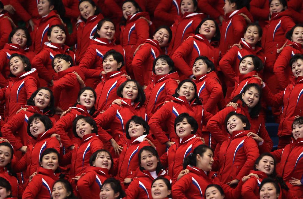 Северокорейские чирлидерши