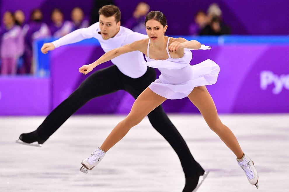 Российская пара фигуристов Наталья Забияко — Александр Энберт