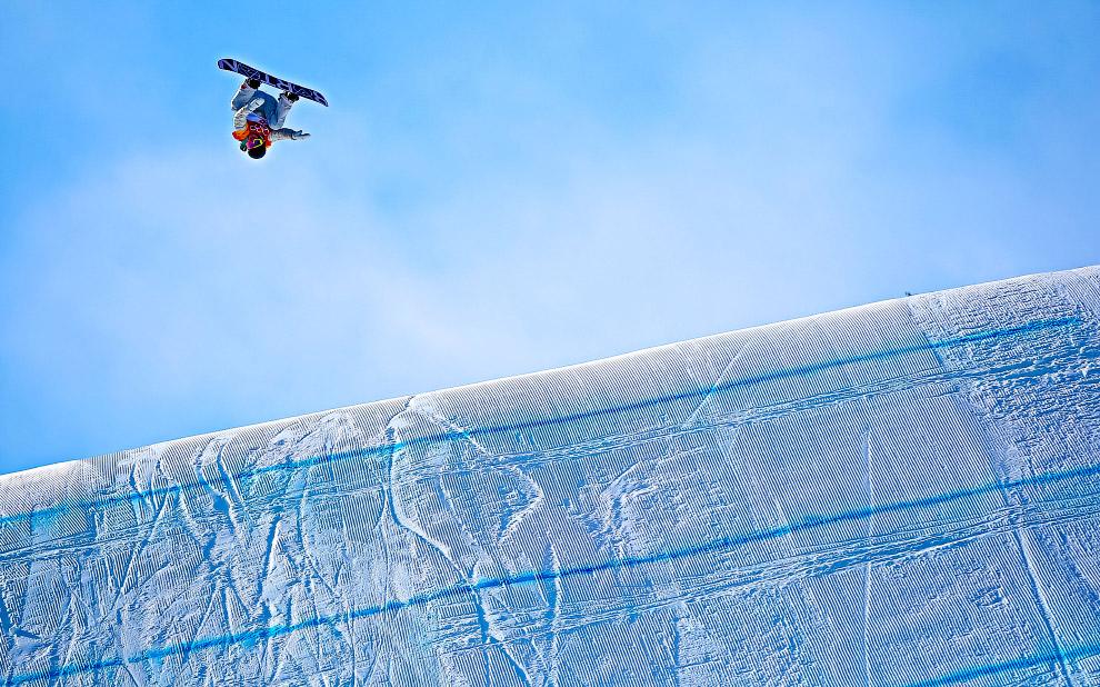 Американский сноубордист Редмонд Жерар