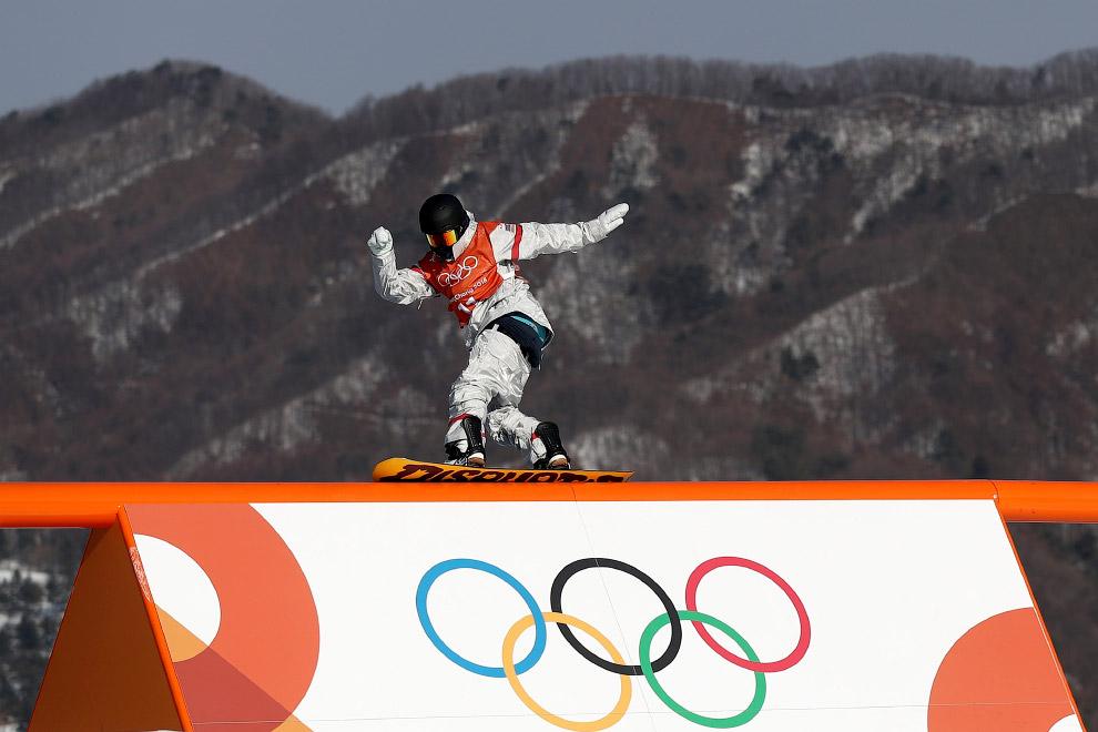 Это были несколько фотографий из Олимпийского Пхёнчхана 2018