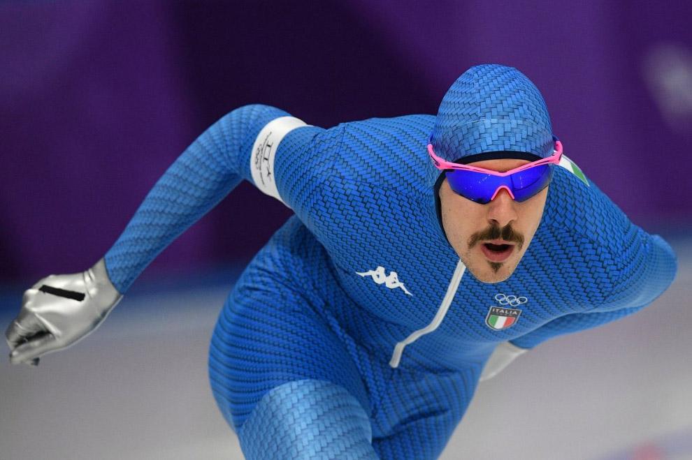 Скоростной заезд на коньках на 5000 метров