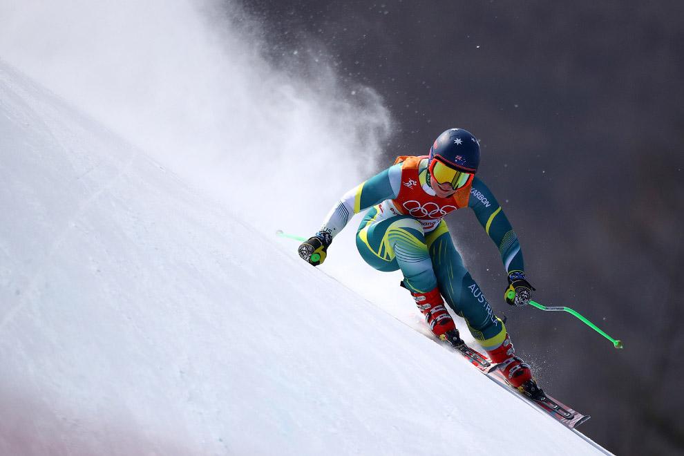 Австралийская горнолыжница Грета Смолл