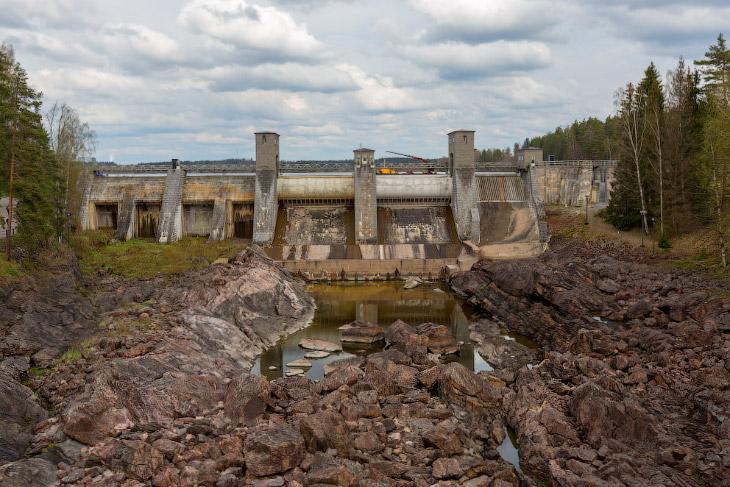 ГЭС Иматра в Финляндии