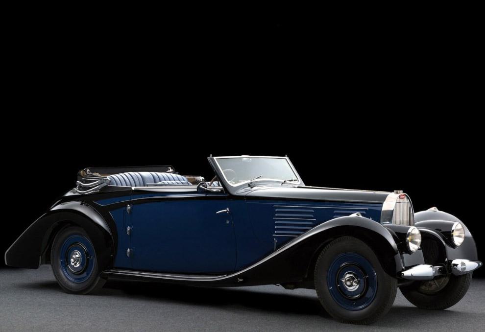 Кабриолет Bugatti Type 57