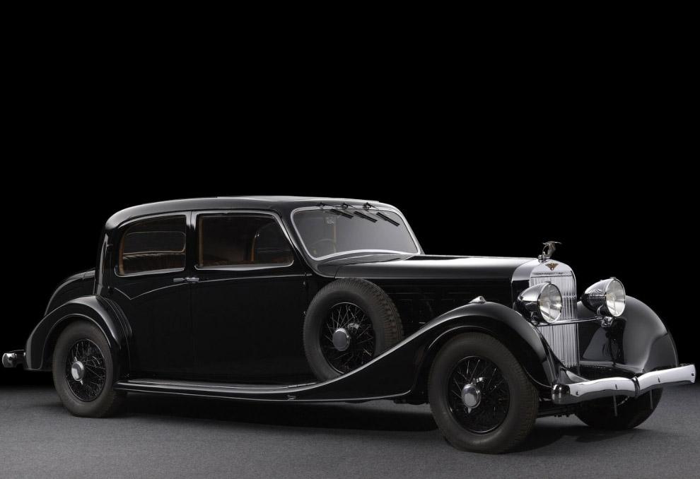 Испанский Hispano Suiza K6 Berline Sans Montant Vanvooren