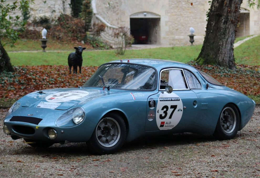 Ретро-автомобиль René Bonnet Aerodjet LM6