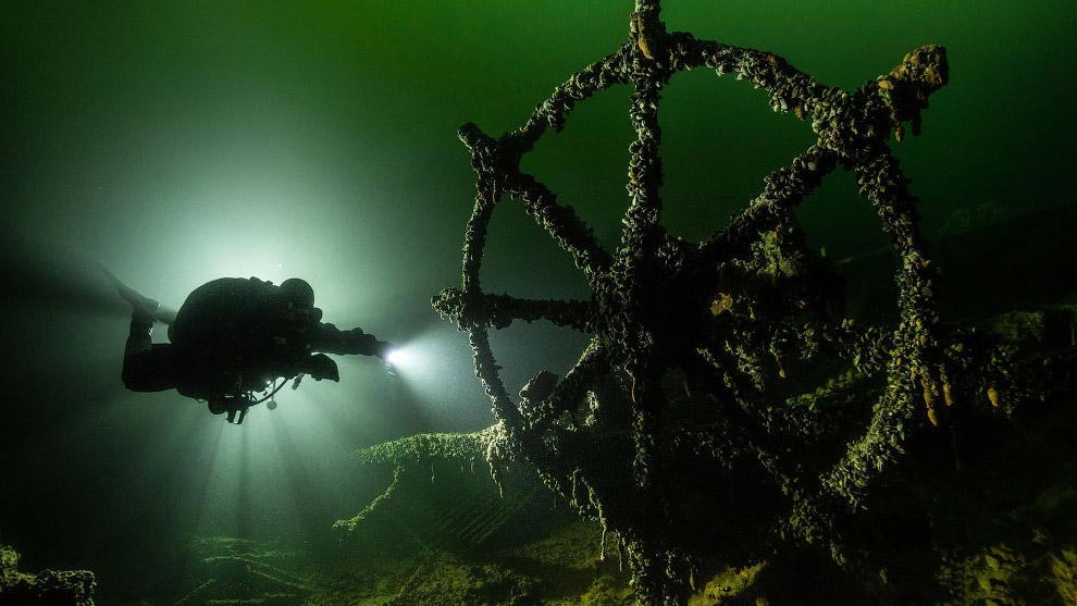 Немецкий корабль Клаус Олдендорф