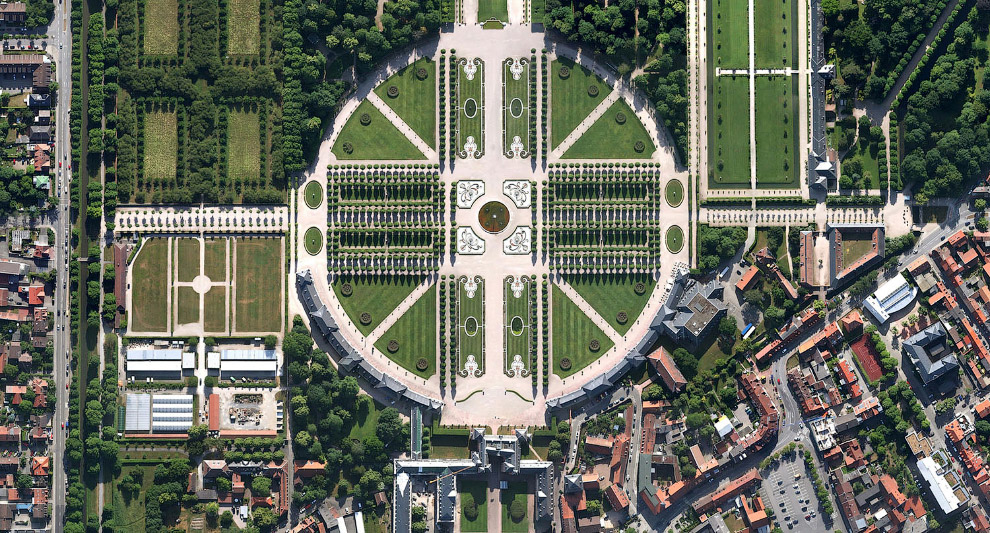 Окрестности Шветцингенского дворца