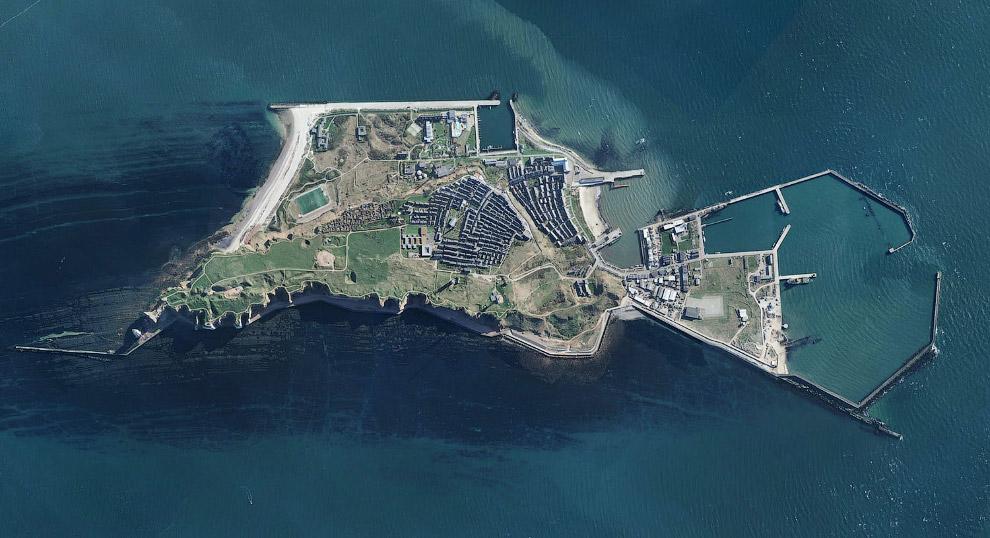 Архипелаг Хелиголанд в Северном море