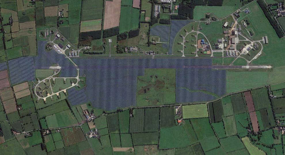 Крупнейшая в Европе солнечная электростанция Eggebek Solar Park