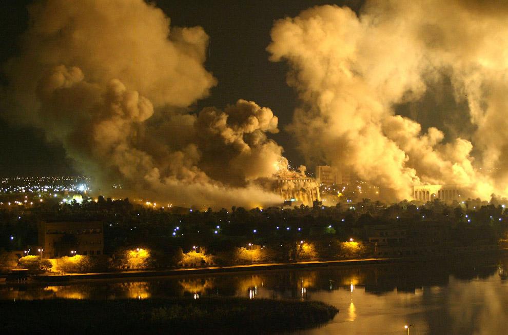 Бомбежка Багдада