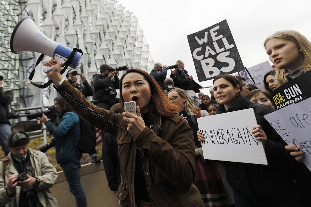 Марш против оружия в США