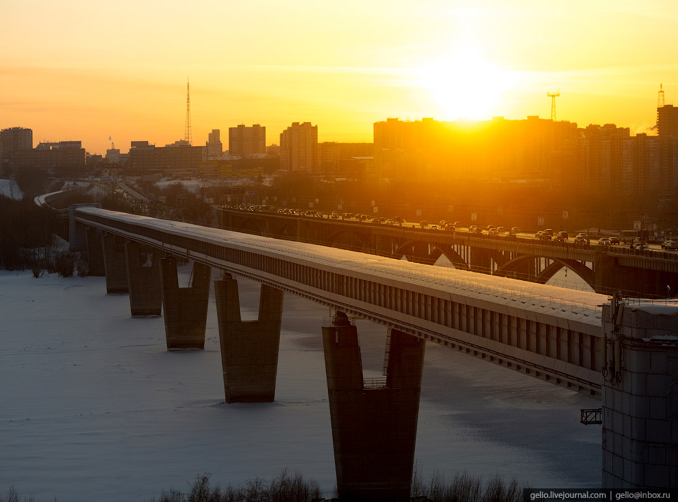 Новосибирский метромост