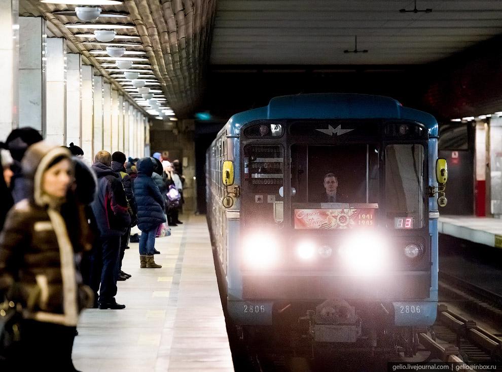 Интервалы движения поездов