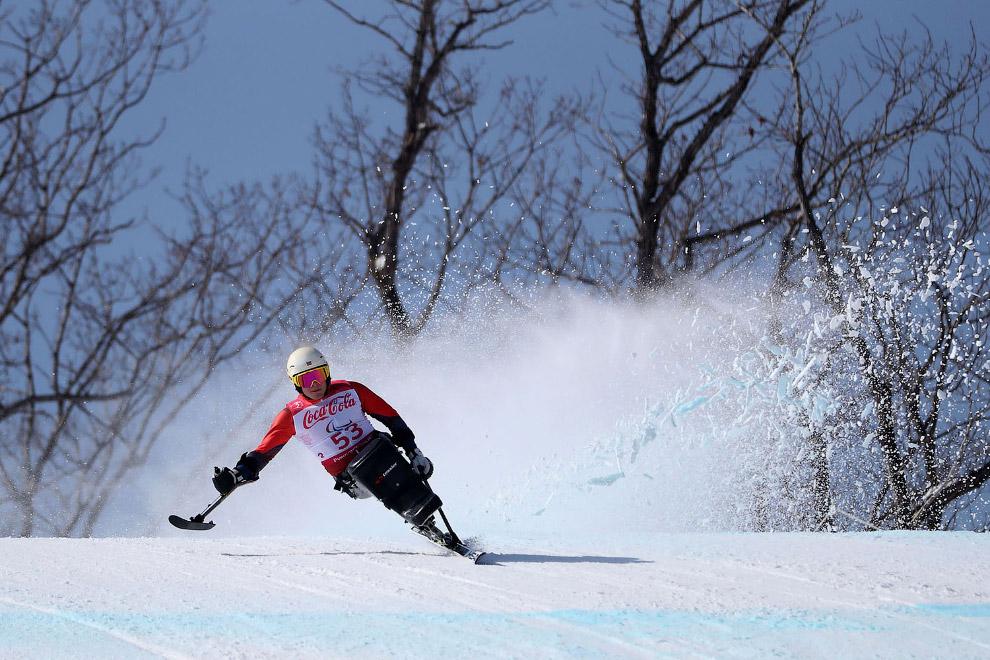 Соревнования по горным лыжам на Паралимпийских играх 2018 в Пхенчхане