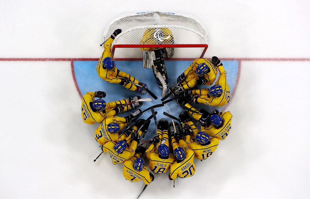 Хоккейная команда из Швеции