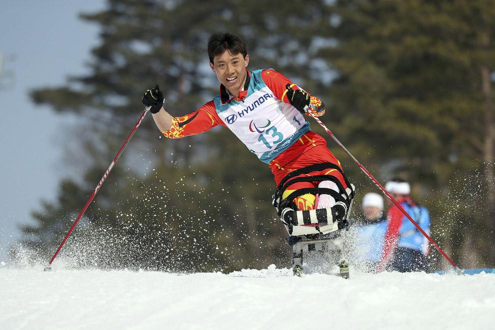 Китайский спортсмен Гао Сяомин