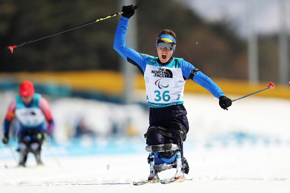 Биатлонист Тарас Радь завоевал четвертую золотую медаль для Украины