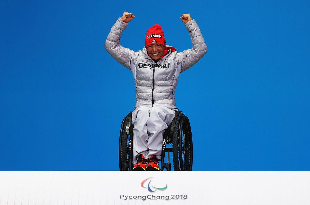 Немецкая биатлонистка Андреа Эскау завоевала золото Паралимпиады в Пхёнчхане.