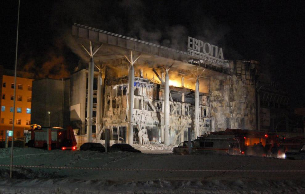 2011 год. Уфа, ТЦ «Европа»