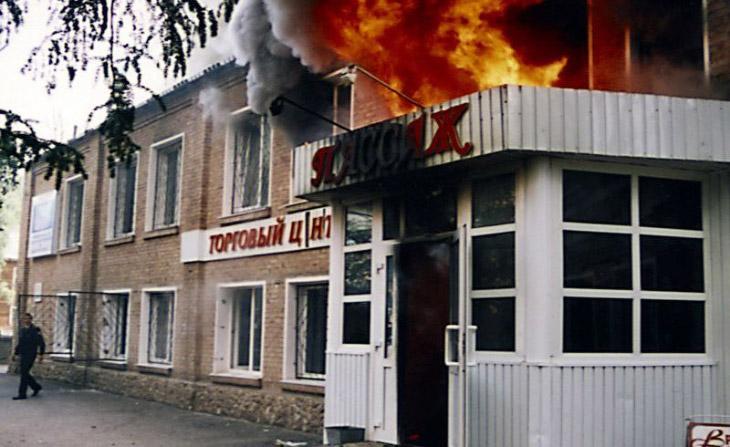 2005 год. Ухта, торговый центр «Пассаж»