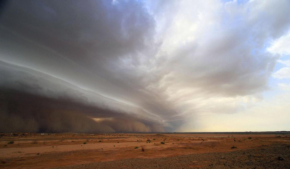 А это буря в Буркина-Фасо
