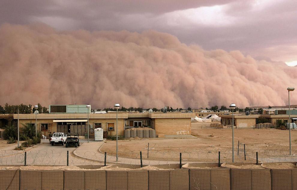 Приближается песчаная буря