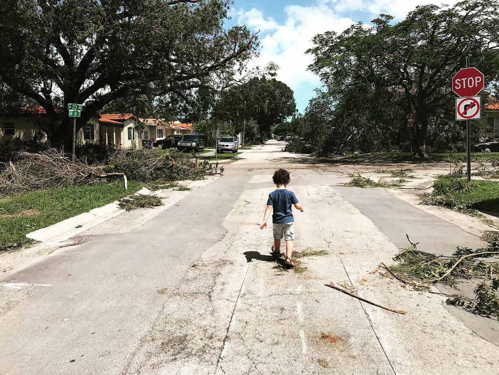 Ураган Ирма поразил Майами