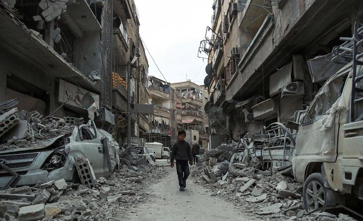 Семь лет войны в Сирии