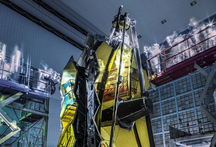 Телескоп «Джеймс Уэбб» – самый мощный телескоп в мире