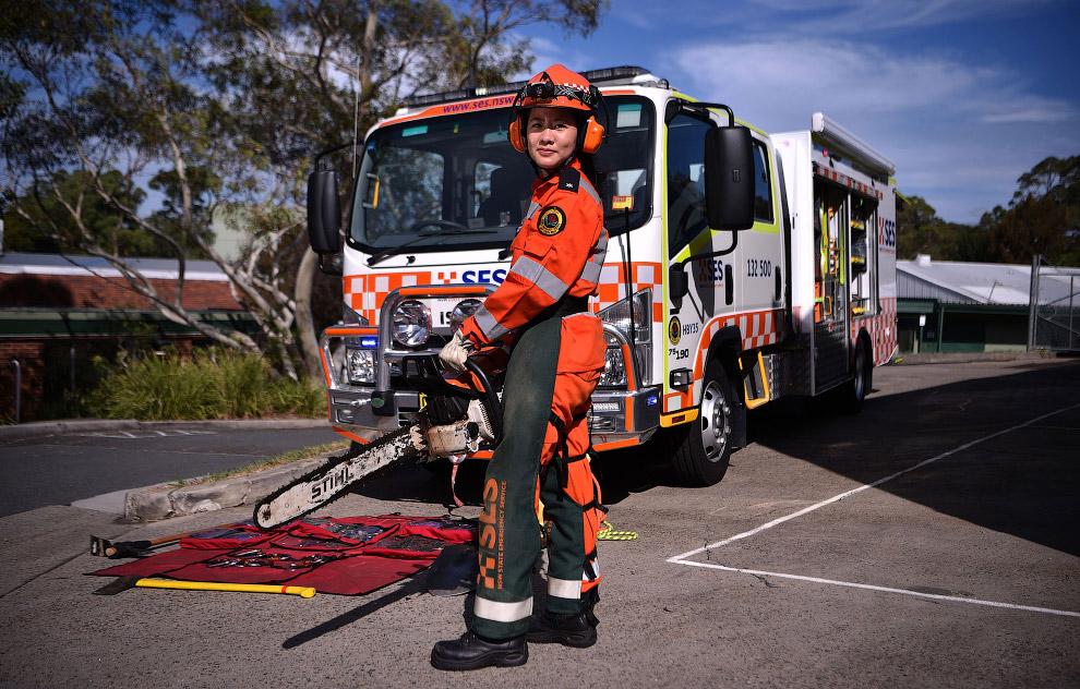 В каждом штате и территории Австралии есть собственная Аварийная служба штата