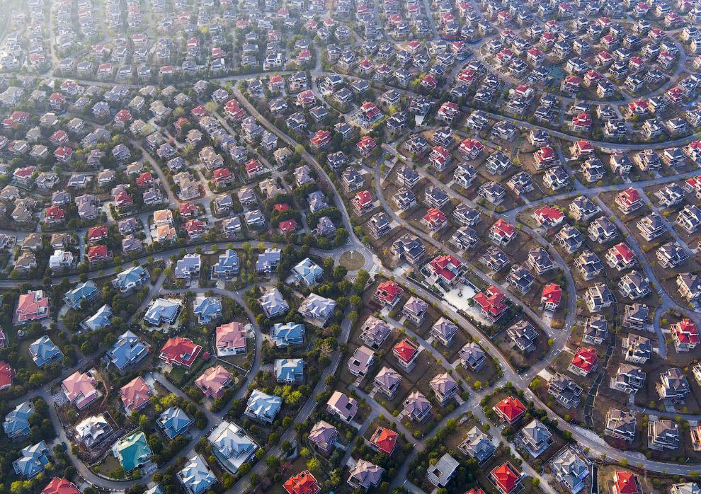 Китайский коттеджный поселок в Ухане