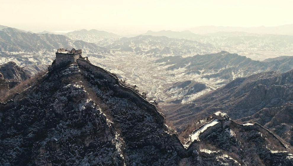Великая китайская стена недалеко от Пекина