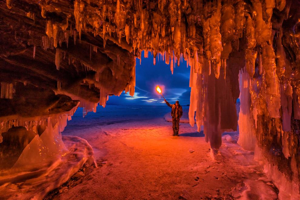 Замёрзшие пейзажи Ольхонских острововand Fire