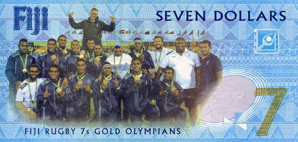 Новые 7 долларов Фиджи