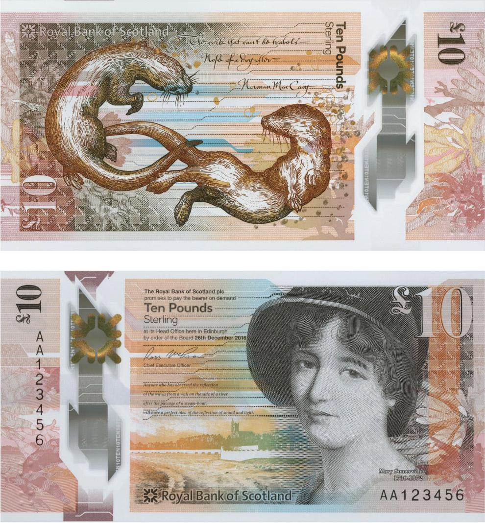 10 шотландских фунтов