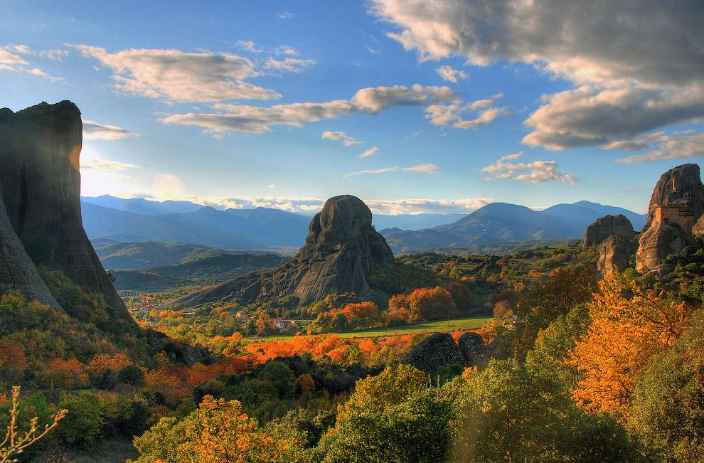 Осень в красивейших местах Греции