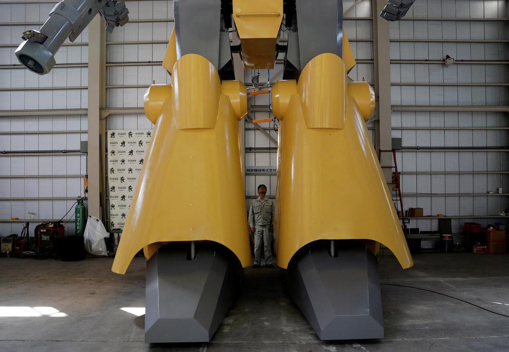 Инженер-конструктор роботов из Японии