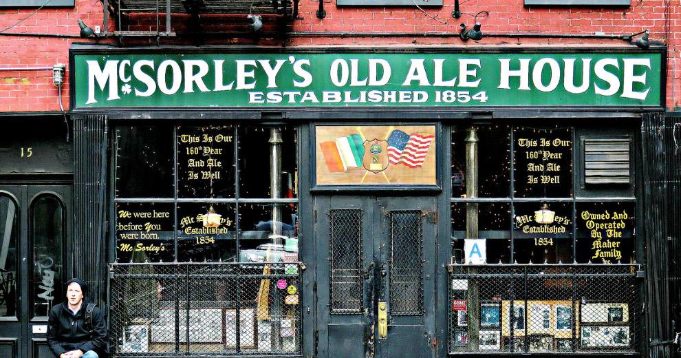 McSorley's в Нью-Йорке