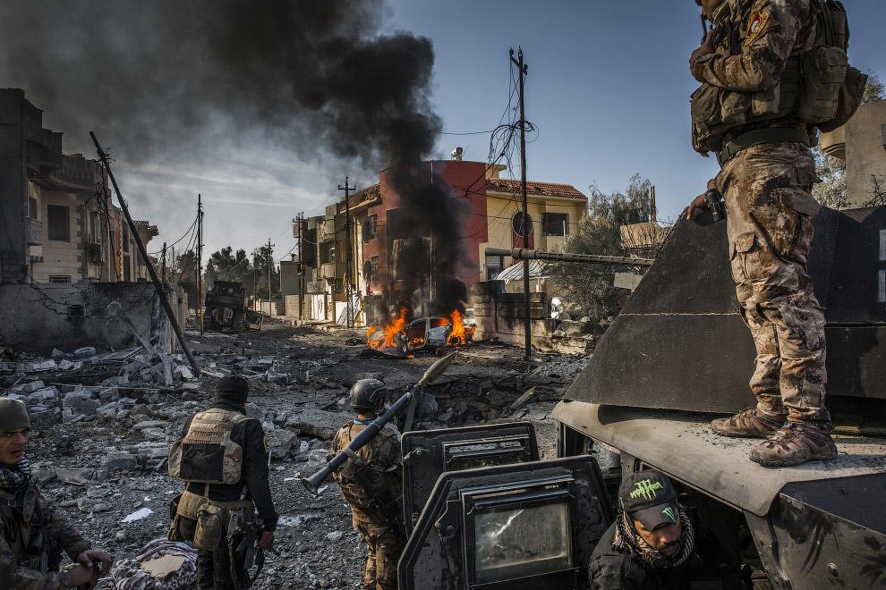 Бои за Мосул в Ираке