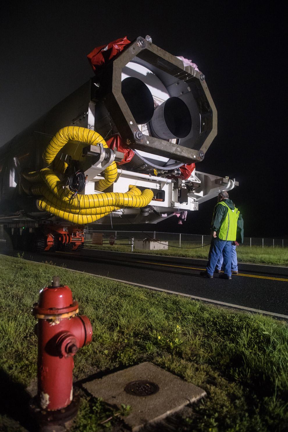 Старт космического грузовика Cygnus