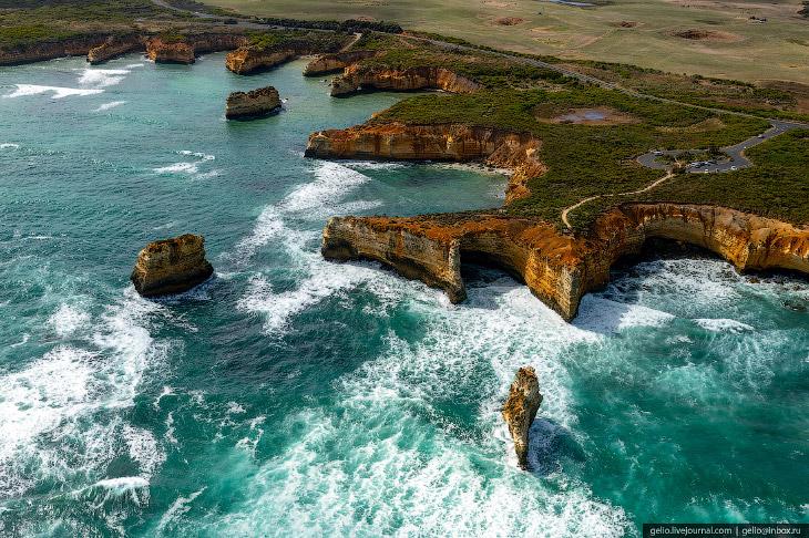 Скалы «Двенадцать апостолов» — исчезающая достопримечательность Австралии
