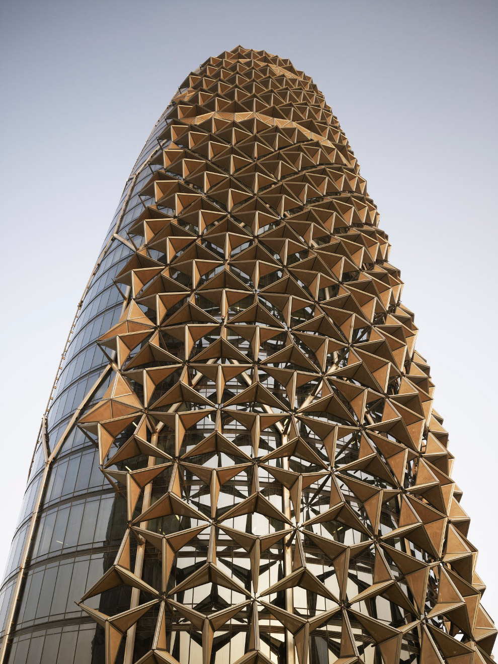 Башни Al Bahar в Абу-Даби