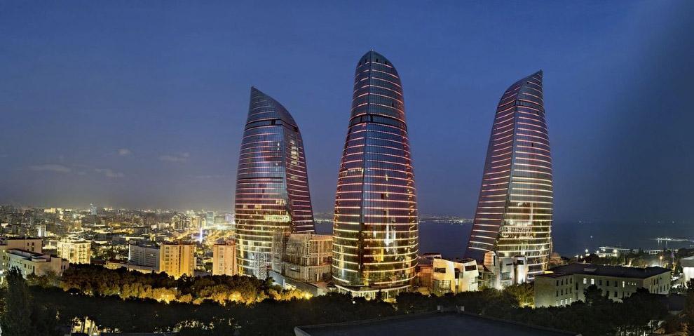 «Пламенные башни» в Азербайджане