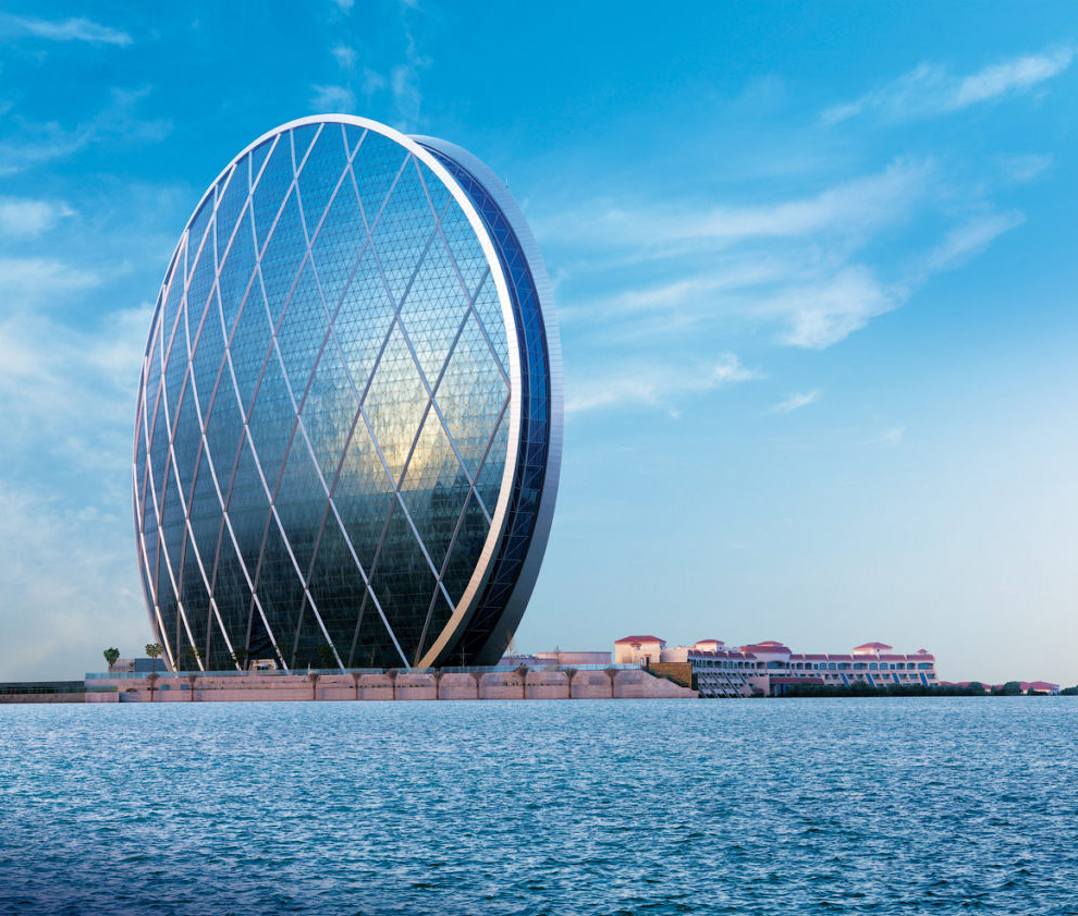 Круглый небоскреб Aldar HQ