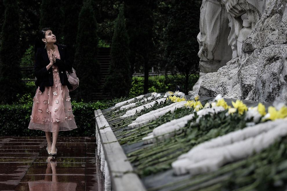 Мемориал, посвященный жертвам Землетрясение в Сычуани