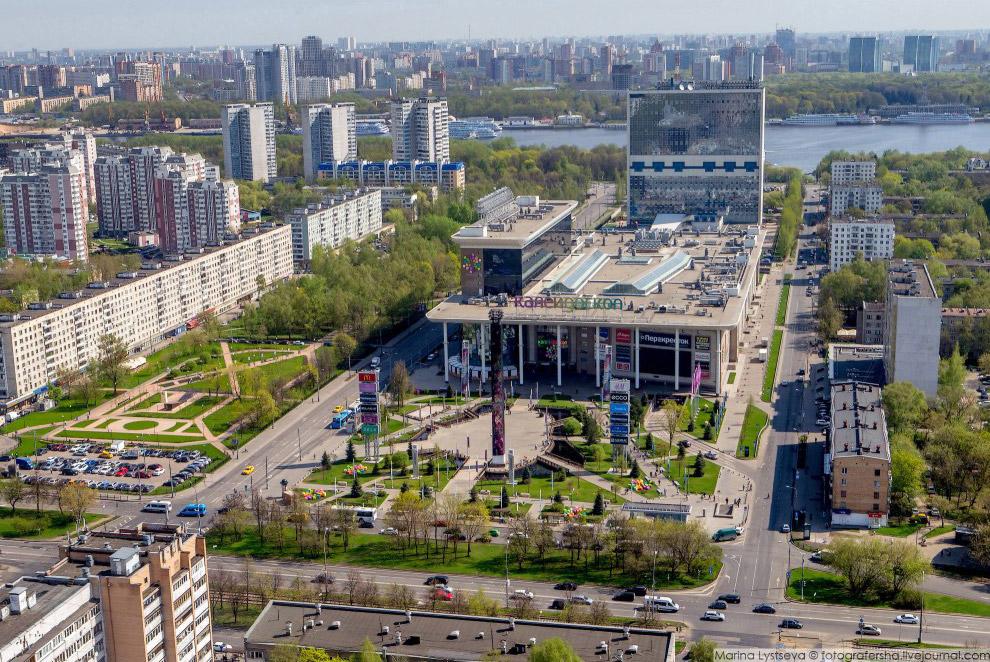 Химкинский бульвар и «Калейдоскоп»
