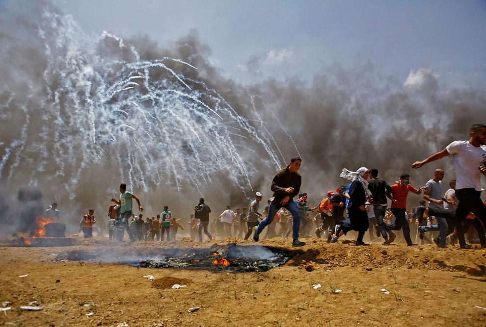 Кровавые протесты в Газе